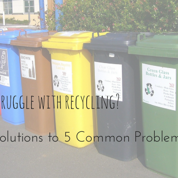 Struggle With Recycling?