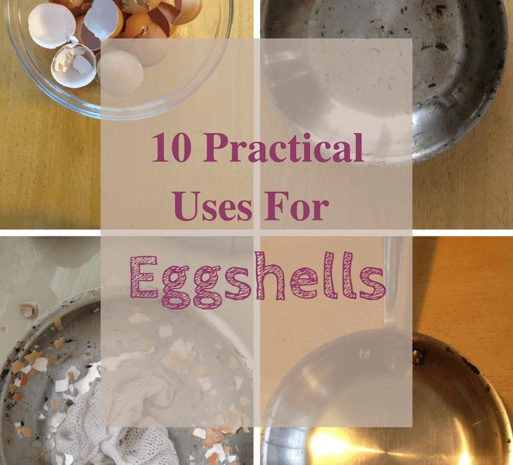 eggshells to scrub pots, many uses for eggshells