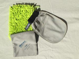 Norwex Car Wash Mitt, Car Cloth and 3-in-1 Car Mitt