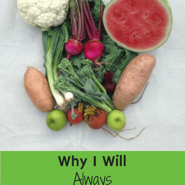 Why I Will Always Choose Organic Produce