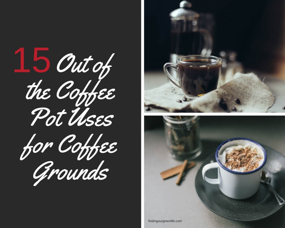 15 Amazing Uses for Coffee Grounds - Finding Our Green Life