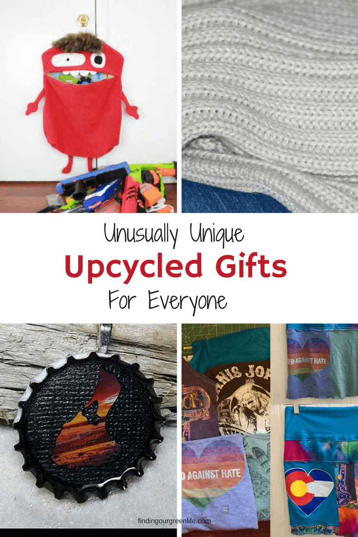 Handmade Upcycled Gifts - Finding Our Green Life