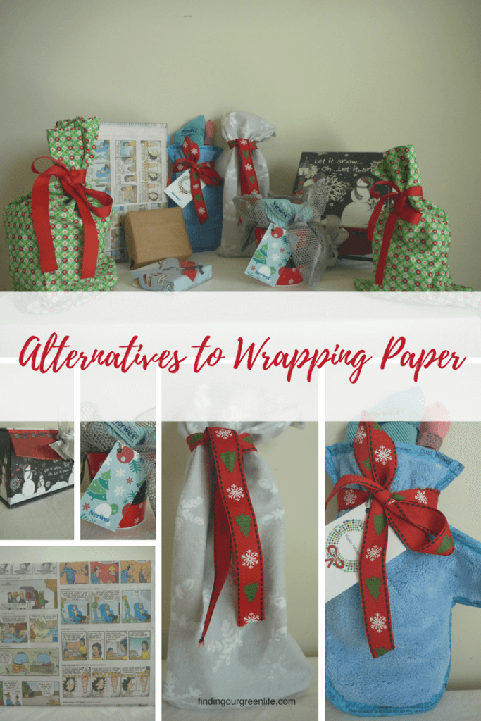 Waste Free Alternatives to Wrapping Paper