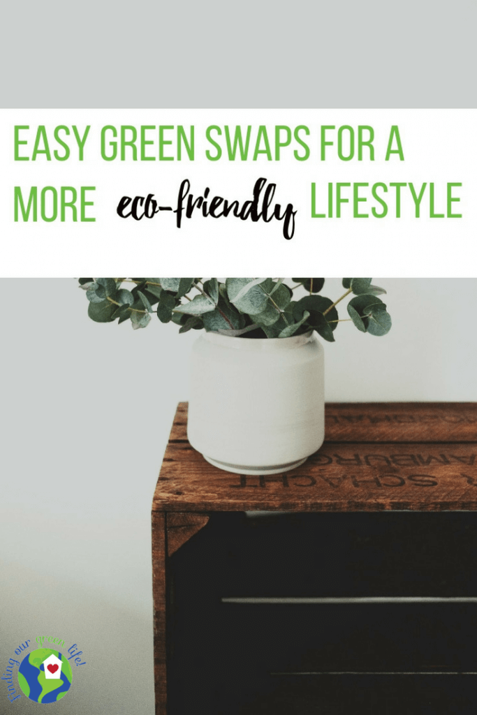53 Easy Green Swaps you can make for a more eco-friendly lifestyle.