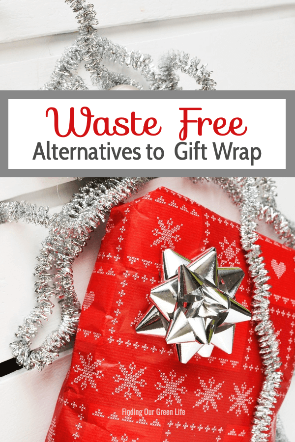 waste free alternatives to gift wrap