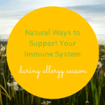 natural ways to combat seasonal allergies