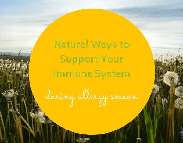 Natural Ways to Treat Seasonal Allergies