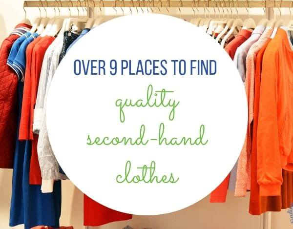 Over 9 Places to Find Quality Second-Hand Clothes