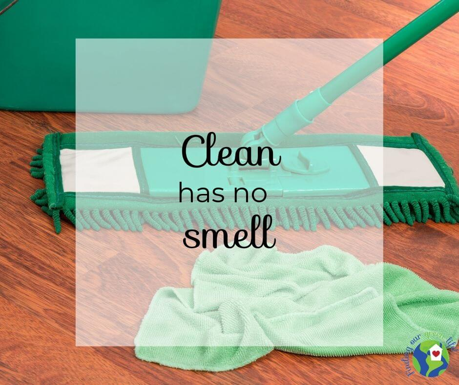microfiber cleaning products with text overlay