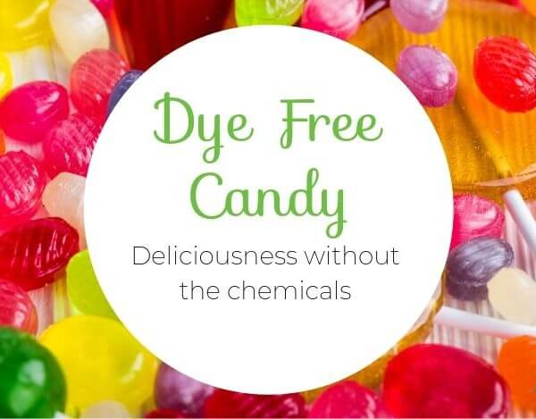 Dye Free Candy For Holidays