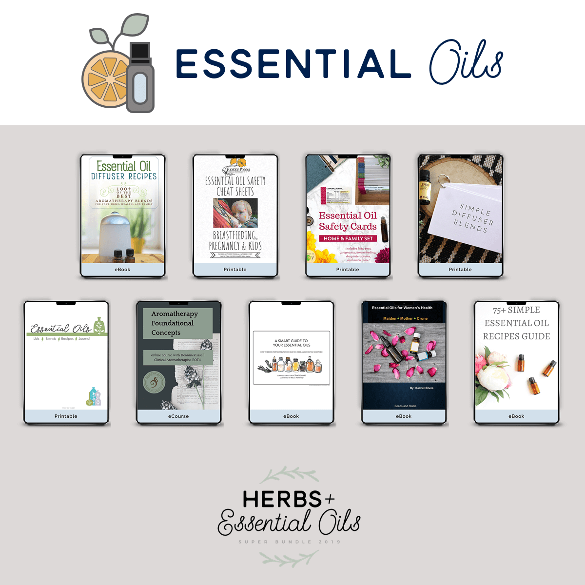 ultimate bundles essential oils list