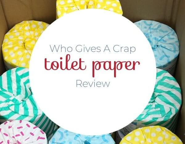 Who Gives A Crap Toilet Paper Review- Thoughts From a Mom