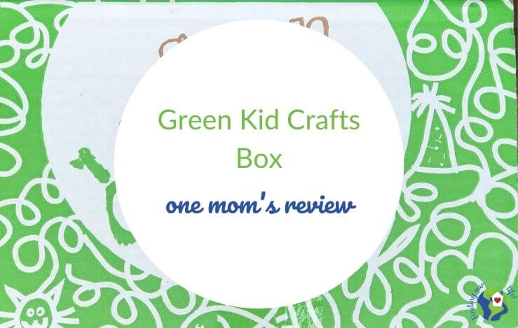 green kid crafts box cover with text overlay