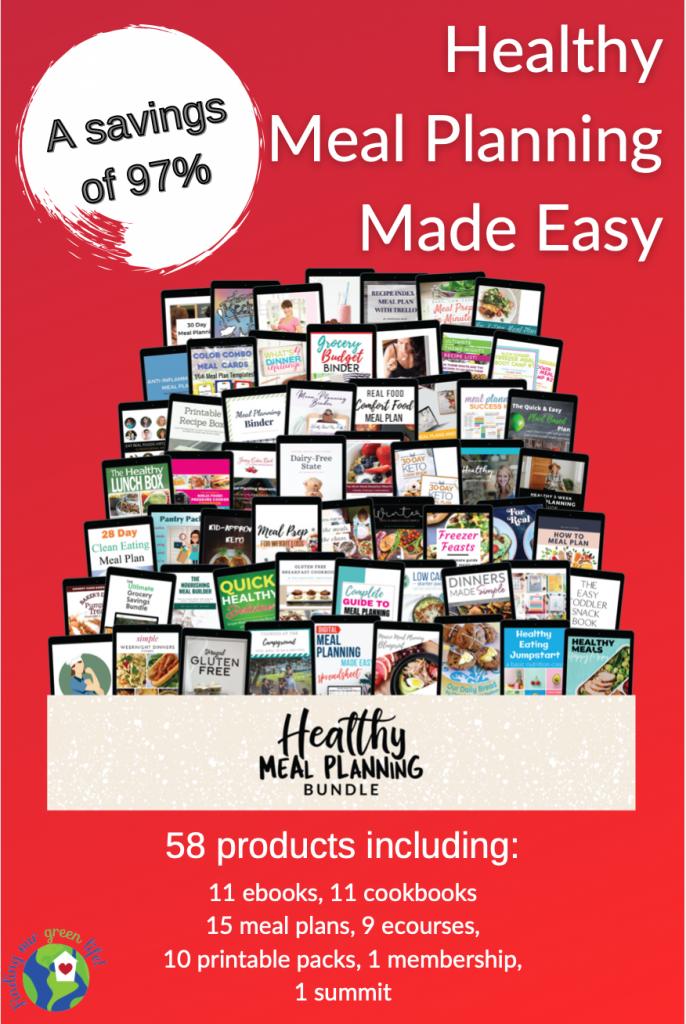 Ultimate Bundles Healthy Meal Planning Bundle product images