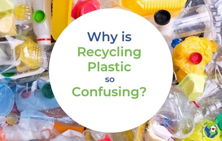 plastics ready for recycling with text overlay